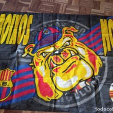 Coleccionismo deportivo: BOIXOS NOIS ULTRAS ULTRA FC BARCELONA BANDERA FLAH HOOLIGAN FUTBOL FOOTBALL. Lote 218983798