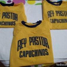 Coleccionismo deportivo: ANTIGUAS CAMISETAS (AÑOS 70 INICIO DE LOS 80) REY PASTOR CAPUCHINOS. Lote 219605253