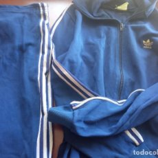 Collectionnisme sportif: RETRO VINTAGE CHANDAL ADIDAS TRACKSUIT 1980 FOOTBALL FUTBOL ANTIGUO XL. Lote 220829558