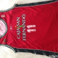Coleccionismo deportivo: CAMISETA CAJA SAN FERNANDO ACB. Lote 220955633