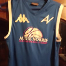Coleccionismo deportivo: NORRIS CAMPUS SIGNED FC BARCELONA CAMISETA BASKET BÁSQUET SHIRT XS. Lote 221443211