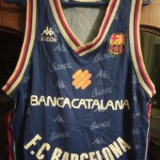 Collectionnisme sportif: FC BARCELONA CAMISETA BASKET BÁSQUET SHIRT XL. Lote 221444467