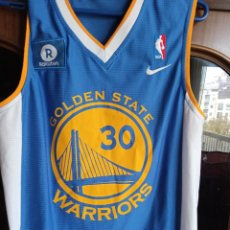 Coleccionismo deportivo: GOLDEN STATE WARRIORS NBA CURRY M CAMISETA SHIRT BASKET BASQUET. Lote 222214057