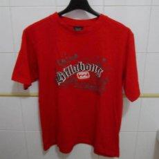Coleccionismo deportivo: CAMISETA ROJA BILLABONE 100% COTTON TALLA L. Lote 222430905