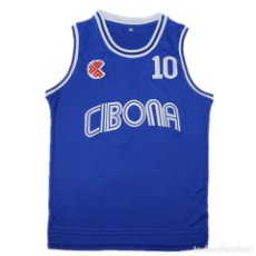 Coleccionismo deportivo: CAMISETA PETROVIC CIBONA. Lote 222832847