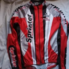 Coleccionismo deportivo: MAILLOT CICLISMO MANGA LARGA SPIUK SPRINTER LIMITED EDITION M. Lote 224726246