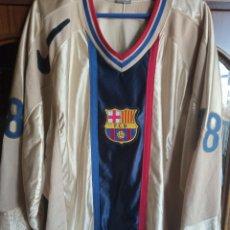 Coleccionismo deportivo: ICE HOCKEY FC BARCELONA VERY RARE XXL MATCH WORN CAMISETA SHIRT JERSEY USA NIKE. Lote 225962987
