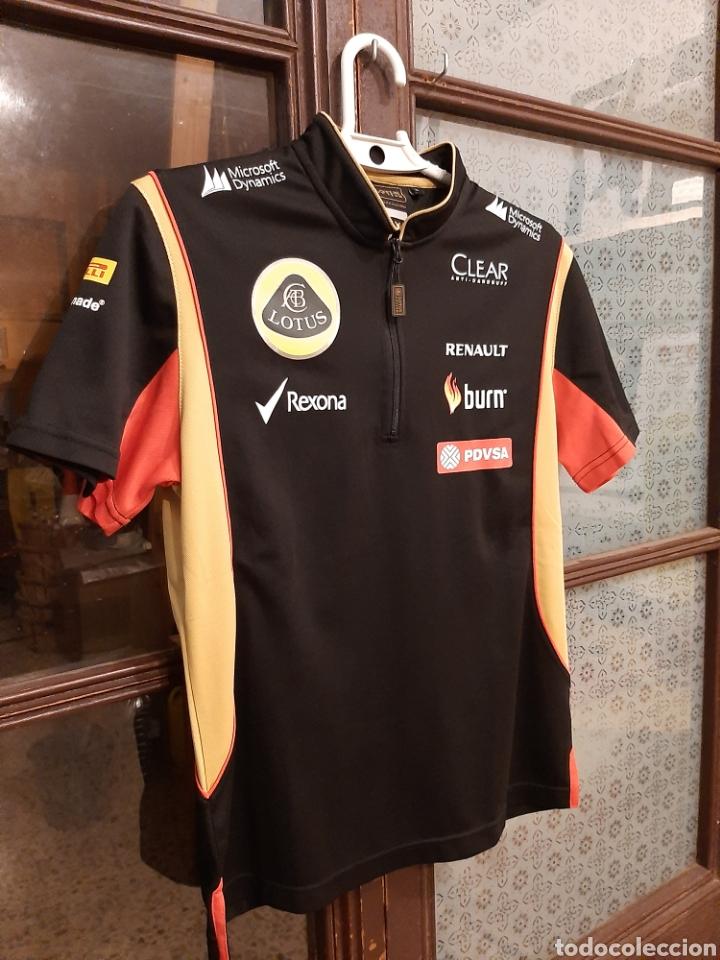 Coleccionismo deportivo: Camiseta técnica equipo Lotus F1 - Foto 2 - 232627115
