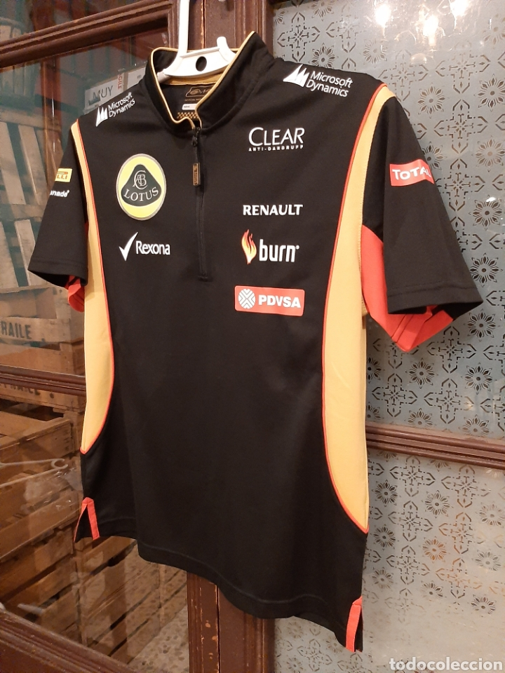 Coleccionismo deportivo: Camiseta técnica equipo Lotus F1 - Foto 3 - 232627115
