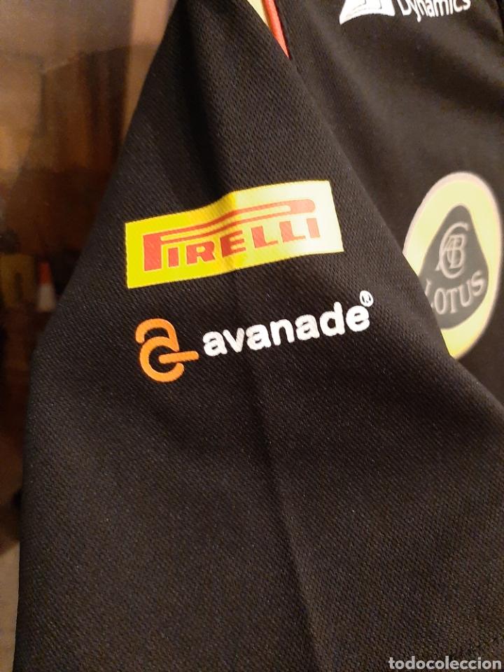 Coleccionismo deportivo: Camiseta técnica equipo Lotus F1 - Foto 4 - 232627115