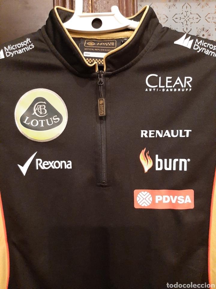 Coleccionismo deportivo: Camiseta técnica equipo Lotus F1 - Foto 6 - 232627115