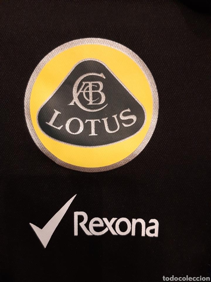Coleccionismo deportivo: Camiseta técnica equipo Lotus F1 - Foto 7 - 232627115