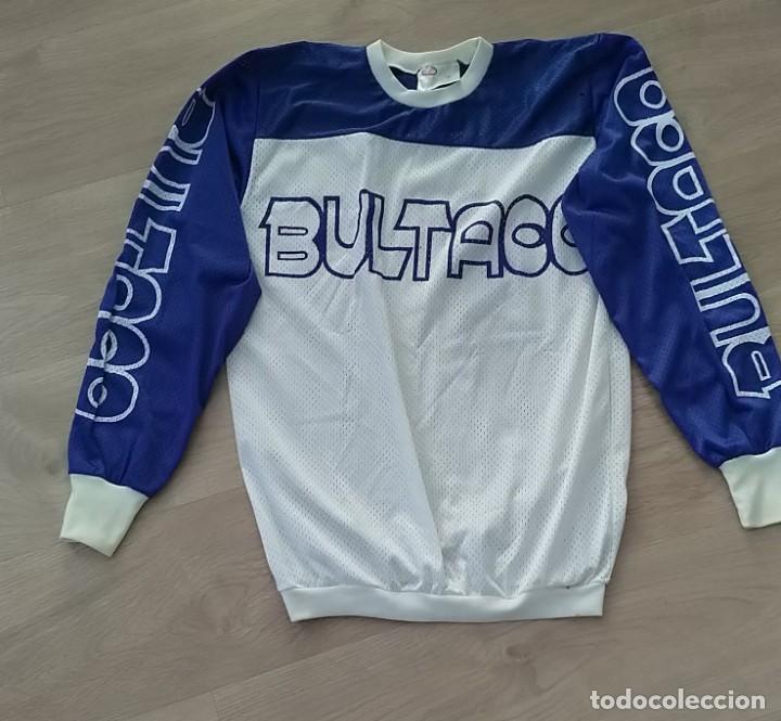 CAMISETA SUDADERA DE COLECCIÓN DE MOTOCROS ORIGINAL CLICE AÑOS 70 BULTACO (Coleccionismo Deportivo - Ropa y Complementos - Camisetas otros Deportes)