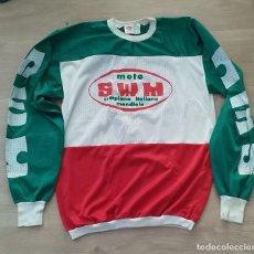 Collectionnisme sportif: CAMISETA SUDADERA DE COLECCIÓN DE MOTOCROS ORIGINAL CLICE AÑOS 70 SWM. Lote 233760200