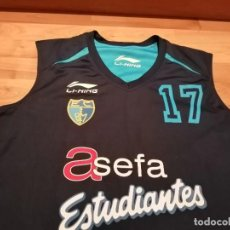 Coleccionismo deportivo: CAMISETA REVERSIBLE ESTUDIANTES PLAYER WORN (EXCLUSIVA TC). Lote 236658615