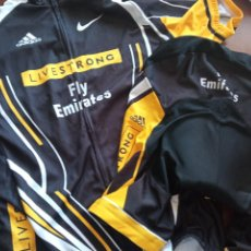Collectionnisme sportif: LIVESTRONG ADIDAS L ALTA CALIDAD MAILLOT CYCLING CICLISMO CICLISTA. Lote 238659525