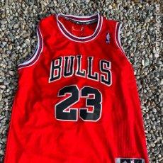 Collectionnisme sportif: CAMISETA ADIDAS DE MICHAEL JORDAN NUMERO 23, CHICAGO BULLS. NBA TALLA L. Lote 240407150