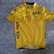 Coleccionismo deportivo: MAILLOT AMARILLO CICLISMO LÍDER TOUR DE FRANCIA 2014 CYCLING JERSEY YELLOW LEADER TOUR DE FRANCE XL. Lote 241888775