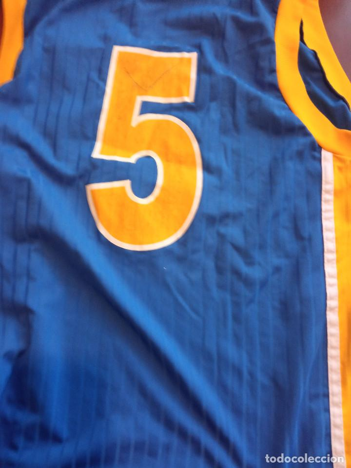 Coleccionismo deportivo: BOSNA HERZEGOVINA MATCH WORN VINTAGE L BOSNIA camiseta basket basquet shirt - Foto 3 - 243354470