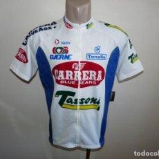 Coleccionismo deportivo: MAILLOT CICLISMO EQUIPO CARRERA TASSONI. Lote 244663750