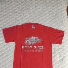 Coleccionismo deportivo: CAMISETA COLLEZIONE MOTO GUZZI. TALLA M, MANDELLO DEL LARIO IN ITALIA. 100 % ALGODÓN. A ESTRENAR.. Lote 244673070