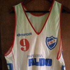 Coleccionismo deportivo: CAMISETA DE BALONCESTO CLUB NACIONAL DE FUTBOL DE URUGUAY. Lote 245243685