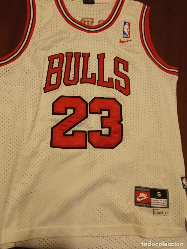 CHICA BULLS JORDAN NBA BASKET BASQUET CAMISETA SHIRT EQUI M (Coleccionismo Deportivo - Ropa y Complementos - Camisetas otros Deportes)