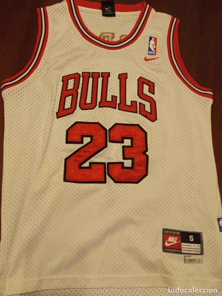 Coleccionismo deportivo: Chica Bulls Jordan nba basket basquet camiseta shirt equi M - Foto 2 - 245471395