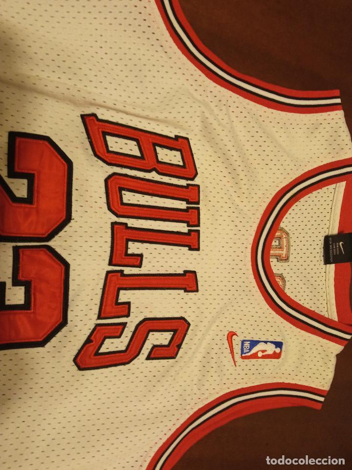 Coleccionismo deportivo: Chica Bulls Jordan nba basket basquet camiseta shirt equi M - Foto 3 - 245471395
