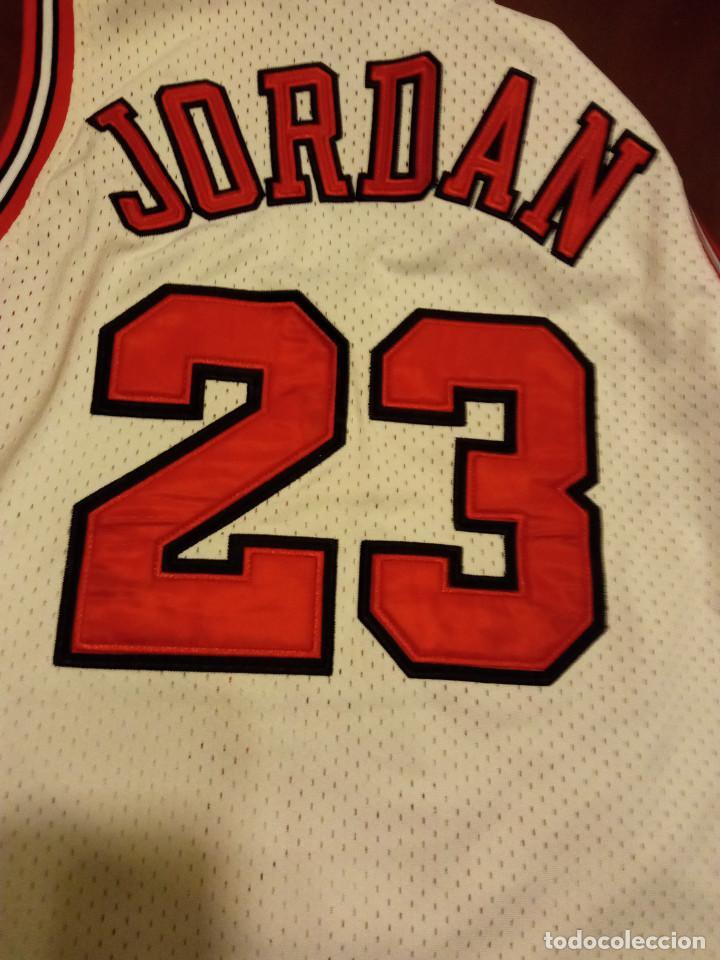 Coleccionismo deportivo: Chica Bulls Jordan nba basket basquet camiseta shirt equi M - Foto 4 - 245471395