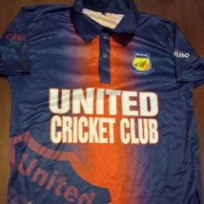 Coleccionismo deportivo: UNITED GIRONA CRICKET MATCH WORN CAMISETA SHIRT M. Lote 245471495