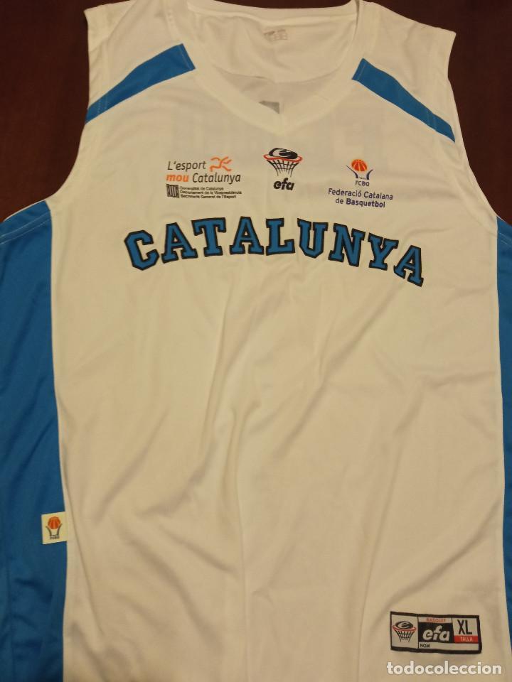 CATALUNYA BASQUET SELECCION XL SHIRT CAMISETA SHIRT (Coleccionismo Deportivo - Ropa y Complementos - Camisetas otros Deportes)