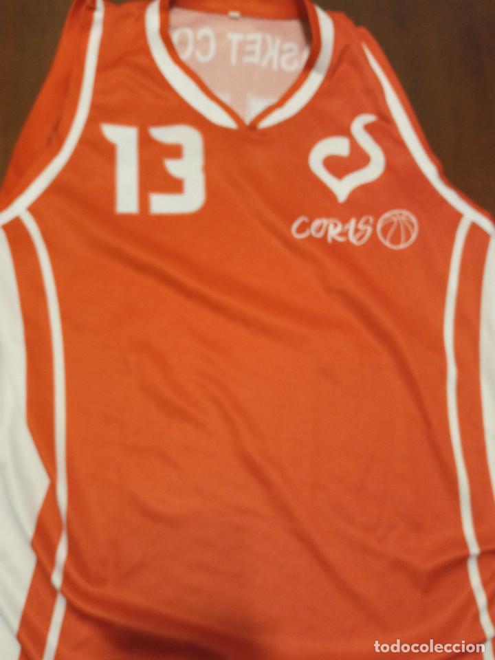CORAS BASQUET BARCELONA M SHIRT CAMISETA SHIRT (Coleccionismo Deportivo - Ropa y Complementos - Camisetas otros Deportes)