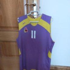 Coleccionismo deportivo: LOTE CAMISETA Y BUFANDA BALONCESTO VALLADOLID.. Lote 245597360