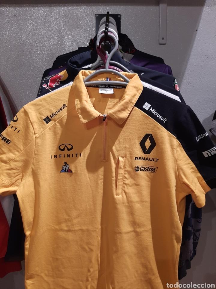 Coleccionismo deportivo: Polo / camiseta oficial Renault F1 Team - Foto 2 - 245715985