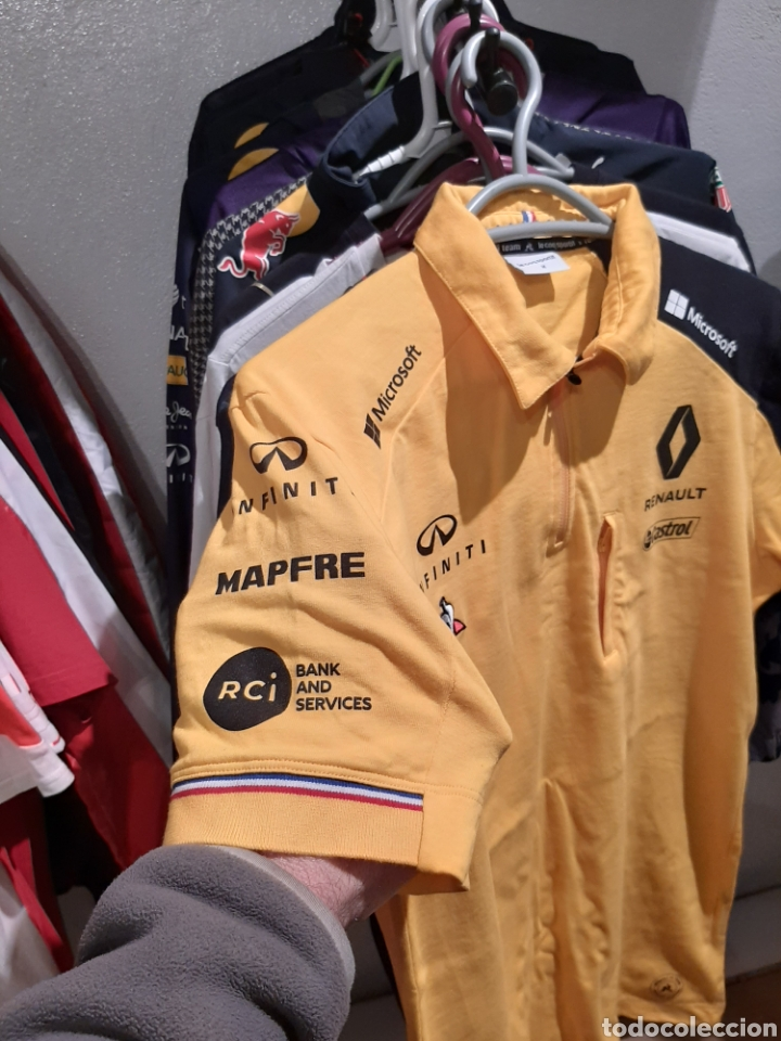 Coleccionismo deportivo: Polo / camiseta oficial Renault F1 Team - Foto 4 - 245715985