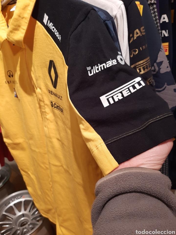 Coleccionismo deportivo: Polo / camiseta oficial Renault F1 Team - Foto 6 - 245715985