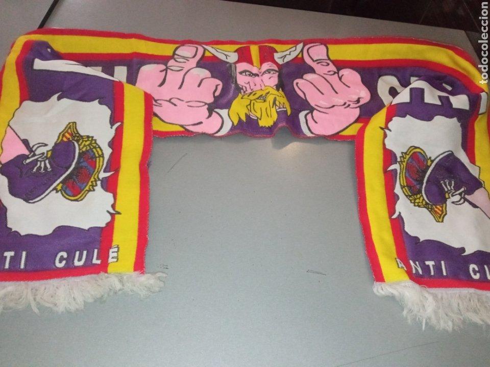ULTRASUS REAL MADRID ULTRAS SUR HOOLIGAN SCARF FOOTBALL SCARF FOOTBALL FUTBOL ULTRA (Coleccionismo Deportivo - Ropa y Complementos - Camisetas otros Deportes)