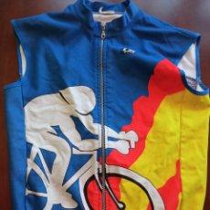 Coleccionismo deportivo: COSTA BLANCA MAILLOT CICLISMO CICLISTA CHAQUETA L. Lote 246314145
