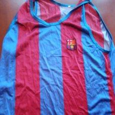 Coleccionismo deportivo: FC BARCELONA 1980 CAMISETA SHIRT VINTAGE BASKET BASQUET. Lote 246314400