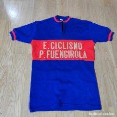 Coleccionismo deportivo: ANTIGUA CAMISETA MALLOT DE CICLISTA, EQUIPO CICLISMO P.FUENGIROLA, DE MALAGA, EN PERFECTA CONDICION. Lote 247185565