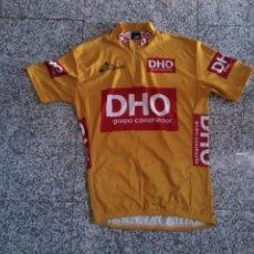 Coleccionismo deportivo: MAILLOT JERSEY ORO CICLISMO VUELTA A ESPAÑA 2007 DENIS MENCHOV CYCLING. Lote 248182800