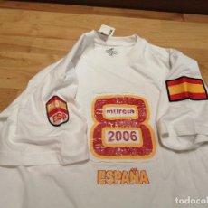 Coleccionismo deportivo: SELECCIÓN ESPAÑA. CAMISETA CAMPEONATO DEL MUNDO DE PÁDEL MURCIA 2006. Lote 251657795