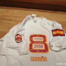 Coleccionismo deportivo: SELECCIÓN ESPAÑA. CAMISETA CAMPEONATO DEL MUNDO DE PÁDEL MURCIA 2006. Lote 251658090