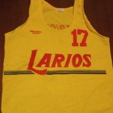Coleccionismo deportivo: LARIOS ALL STAR VINTAGE RETRO SAN MARINO USA MATCH WORN BASQUET 1980 XXL CAMISETA BASKET SHIRT. Lote 251766975