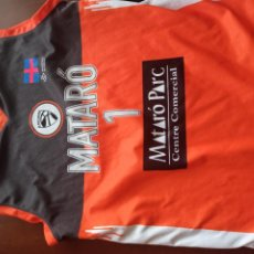 Collectionnisme sportif: BOET MATARO M CAMISETA SHIRT BASKET BASQUET. Lote 253319315