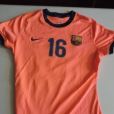 Coleccionismo deportivo: FC BARCELONA MATCH WORN FEMINAS WOMEN SECTION HOCKEY VOLLEY M CAMISETA SHIRT FOOTBALL. Lote 253994590