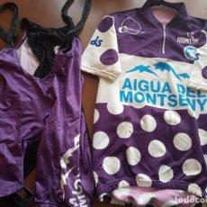 Coleccionismo deportivo: CC MONTMELO L VINTAGE TEAM MAILLOT CYCLING JERSEY BICICLETA CICLISMO CICLISTA. Lote 254317445