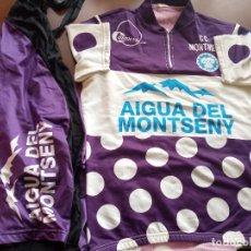 Coleccionismo deportivo: CC MONTMELO L VINTAGE TEAM MAILLOT CYCLING JERSEY BICICLETA CICLISMO CICLISTA. Lote 254317480
