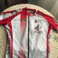 Coleccionismo deportivo: MAILLOT DE CICLISMO , LOS 10.000 CUEVA DEL SOPLAO , CANTABRIA 2013. Lote 254336835